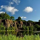 Auchinstarry Quarry,Kilsyth,Scotland. by Jim Wilson