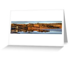 I'll Be Dammed - Oberon Dam, Oberon NSW Australia - The HDR Experience Greeting Card