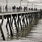 Glenelg Jetty 4pm (2) by Ali Brown