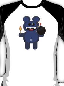 BEAR 4 (Cute pet has a bomb and its alight!) T-Shirt