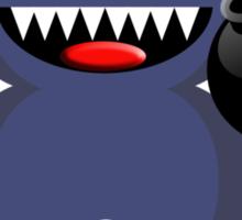 BEAR 4 (Cute pet has a bomb and its alight!) Sticker