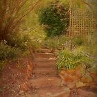 Up the Garden Steps by Elaine Teague