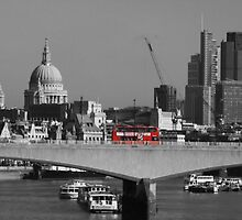 Red London Bus by Nick Martin