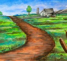 """The Dirt Road"" by Steve Farr"