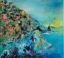 Manarola - Cinque Terre-Manarola Italy  V. by andrassyp