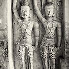Rock Temple Art - Lankatilaka Temple by Dilshara Hill