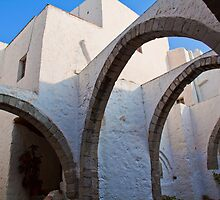 Greece. Patmos. The Monastery of St.John. by vadim19
