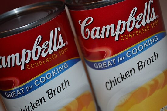 Two Campbells by Sheryl Langston