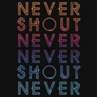Never Shout Never - Colours by suburbia