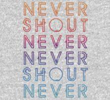 Never Shout Never - Colours Kids Clothes