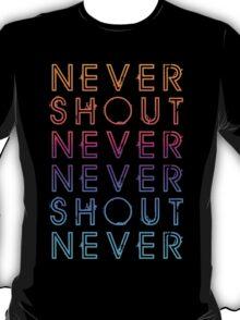 Never Shout Never - Colours T-Shirt