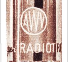 Vintage Radio Valve (from the Vintage Magazine series)  Sticker