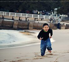 Mosman beach - Boy by fRantasy