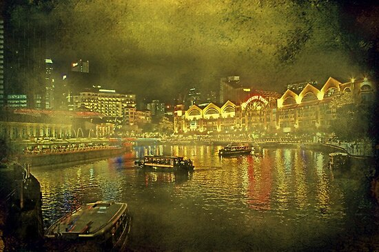 """""""Singapore..."""" by Rosehaven"""