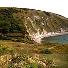 Panorama of Lulworth Cove by Rob Hawkins