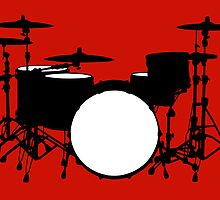 Drum kit by Richard Heyes
