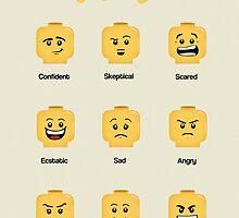 Lego Moods by designholic