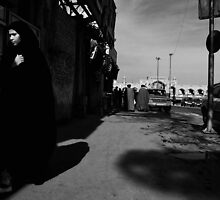 The Lady in Black! by Mohsen Bayramnejad