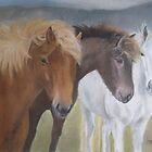Merlod Mynydd (Mountain Ponies) by Sharon Herbert