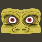 Angry Orc Eyes by DoodleDojo
