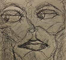 Lonely Scribble of Mine by Christina Rodriguez