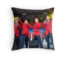The Cast Of Jersey Boys (London) Throw Pillow