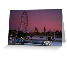 """London's Lights"" Greeting Card"