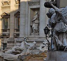 Fontana di Trevi by Alessandro Pinto
