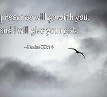 Seagull and Exodus 34:13 Verse  by Corri Gryting Gutzman