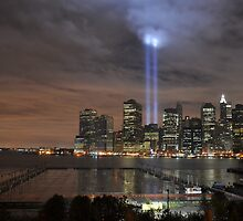 Downtown Manhattan - 9-11-2009 by gusphotog