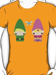 Gnome Link and Zelda T-Shirt