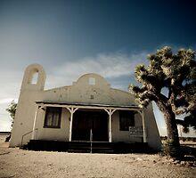 Mojave Desert Church by Firesuite