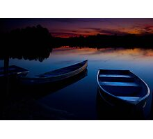 Summer on the lake Photographic Print