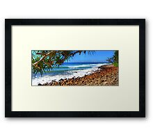 A Beautiful Day at the Park Framed Print