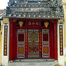 Temple, Hoi An, central Vietnam. by John Mitchell