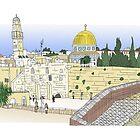 Temple Mount, Jerusalem by Steve Wiltshire