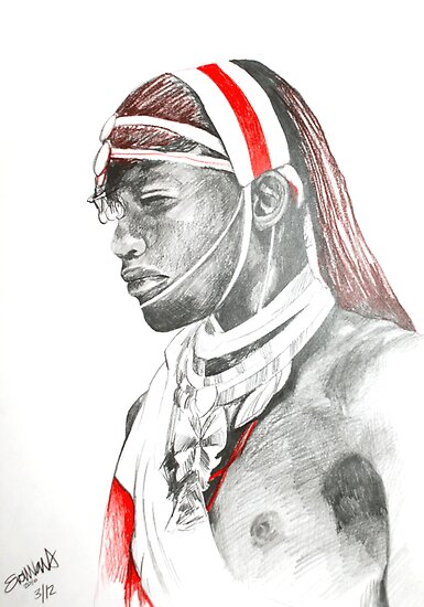 warrior chief by Ella van der Walt