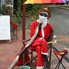 Didgeridoo Santa by Ingrid Merrett