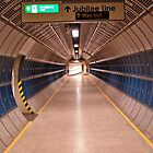 subway tunnel  by richard  webb