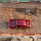 Car from above in Trinidad by Stephen Colquitt