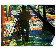 Walking the Tracks Poster