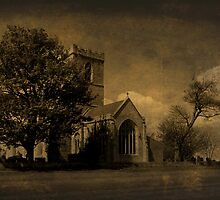 The Parish Church of St Andrew | Texture by Sarah Couzens