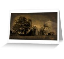 The Parish Church of St Andrew | Texture Greeting Card