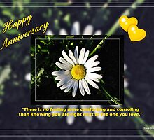 Happy Anniversary by Greeting Cards by Tracy DeVore