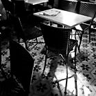 Bar: waiting for the punters by Stefan Stuart-Fletcher