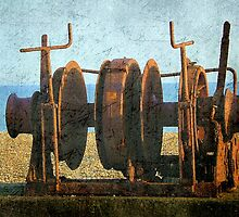 Rusted Winch ©  by Dawn M. Becker