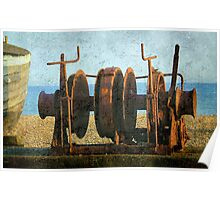Rusted Winch ©  Poster