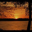 TTV Mississippi River Sunset. by mikepemberton