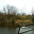 Waterworks Panorama by Alaina Rose