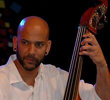 Eric Revis (bassist) @ Darling Harbour 2011 by muz2142